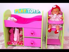 How to make a Doll Baby Stroller - YouTube