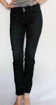 Skinny jeans, marca Flying Monkey, elastici, cu talie inalta, foarte comfortabili Flying Monkey, Black Jeans, Skinny Jeans, Pants, Fashion, Trouser Pants, Moda, Fashion Styles, Black Denim Jeans