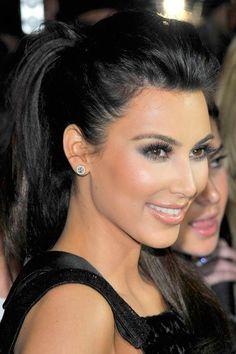 Kim Kardashian Best Hairstyles #kimkardashian #hairstyles #celebrityhairstyles... - Kim Kardashian Style