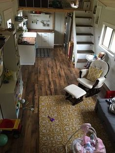 39′ tiny house for sale to be moved to your land! This house was completely handcrafted and custom ...
