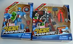 Get Creative with MARVEL SUPER HERO MASHERS - Review and Reader Giveaway - Jinxy Kids - One lucky Jinxy Kids reader will receive a one MARVEL SUPER HERO MASHERS Battle Upgrade Action Figure.  To enter, just complete the entry form below by 11:59pm ET on 2/27/14