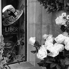 #london #libertylondon #white #black #fashionblog #minimalist - Thanks to @chouettefashion_lukasz! #myliberty