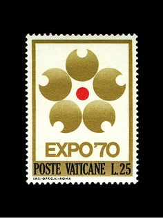 The Vatican State Post - Expo '70 Stamp