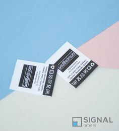 Manufacturer & Wholesale Supplier of Custom Printed Fabric Labels & Tags for Clothing & Home Textiles. You get good price and fast delivery on quality labels.