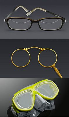 Rodenstock fulfills unusual special requests like collector's items or diving goggles, for spectacles wearers with specific demands. No matter how unusual your vision requirements are, we have the optimum solution at hand.