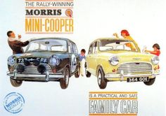 Morris Mini-Cooper - FAMILY People Mover OR a Radical RALLY RACER ???