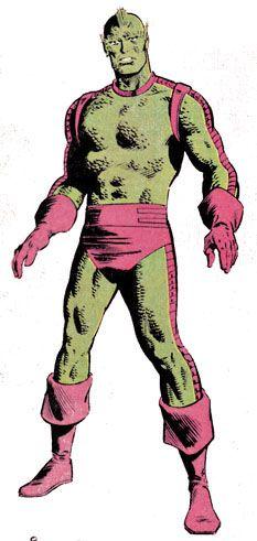 Triton - Inhuman - brother to Karnak, cousin to Black Bolt, Medusa, Crystal, Gorgon - Marvel Comics