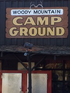 Woody Mountain Campground On Route 66.  Flagstaff. Arizona. Photo by www.campbase.com