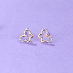 14K White Gold Madi K Childrens 15 MM Diamond Cut Laser Cut Hoop Earrings