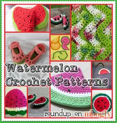 Free Watermelon Crochet Patterns! Roundup on Moogly