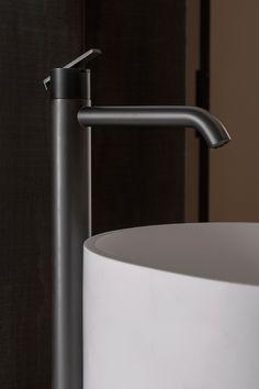 Basin Taps, Basin Mixer, Bathroom Furniture, Architecture, Master Bathroom, Sink, Coding, Design, Home Decor