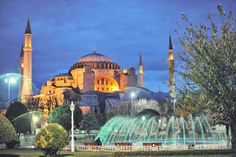 Hagia Sophia, Istanbul, Turkey; I would love to visit here someday