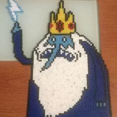 Ice King Adventure Time hama beads by hama_beads_almeria