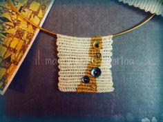 il macramè di sabrina: Omaggio a Gustav Klimt e piccolo riciclo...