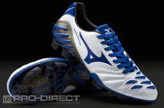 Mizuno Football Boots - Mizuno Wave Ignitus 2 MD - Soccer Cleats - Pearl-Blue-Black