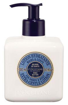 shea butter body lotion / l'occitane