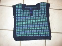 Ravelry: ByAnn's Baby-vest. 3-6 months. Modified in size and my stitch pattern