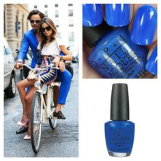 """OPI """"Blue It Out Of Proportion"""""""