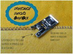 Srta.Pizpiretta: El probador: Prensatelas Puntada Overlock y Cordoncillo