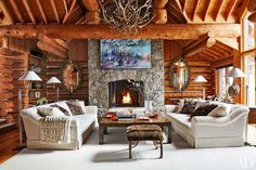 Mix and Chic: A decorator's rustic chic Aspen getaway!