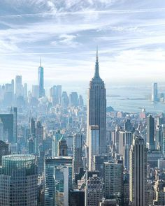 Magical Pictures, Great Pictures, Empire State Of Mind, Empire State Building, New York Architecture, One World Trade Center, New York Life, City Aesthetic, Scenery Wallpaper