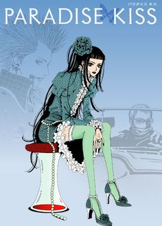 Paradise Kiss~ It's a short series but it was cute and the story is very awesome!