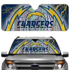 NFL San Diego Chargers Automotive Reflective Sun Shade Car Preorder free s/h