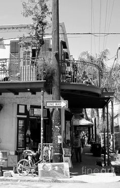 Frenchmen Street, where the music plays all night long.