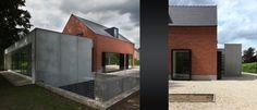 Uitbreiding woning Lambert-Corthouts - Egide Meertens Architecten - Baksteen & betonlook