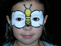 DIY Bumble Bee Face Paint #DIY #BumbleBees #FacePainting #Birthdays #Birthday #Parties #Party