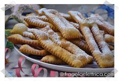 CHIACCHIERE LEGGERE E FRIABILI fragolaelettrica.com Le ricette di Ennio Zaccariello #Ricetta