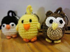 Pinguim, Pintainho e Mocho
