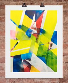 """'EDIT"""" limited edition print by Torben Giehler, £495, available here: http://www.nellyduff.com/gallery/torbengiehler/edit"""