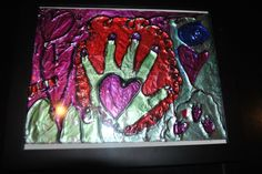 The Brighter Side of Dirty Diapers: Tin Foil Art Project Art For Kids, Crafts For Kids, Arts And Crafts, Tin Foil Art, 8th Grade Art, Middle School Art, Art Lesson Plans, Teaching Art, Elementary Art