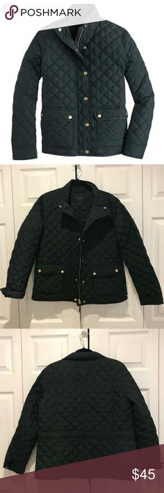 Crew Green size L Puffers at a discounted price at Poshmark. 820b6697b