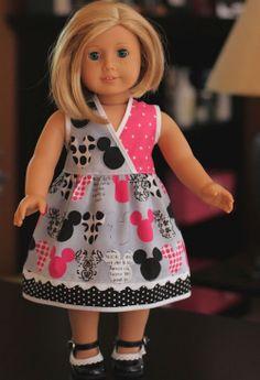 SALE American Girl Dress by little noel by LittleNoel on Etsy
