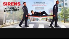 #Sirens on #USA Usa Network, Wedding Crashers, My Brain, Sirens, Pop Culture, Tv Shows, Social Media, My Love, Books