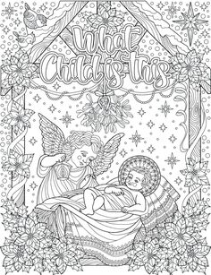 Inspired To Graces Christian Colouring Cards are a celebration of this wonderful christian season that invites you to pick up your pens, pencils, markers, and paints to color & relax.  Print this set of coloring cards on your paper of choice, fold in half, and your cards are ready to color and personalize! Blank interior allows you to customize and tailor the card to many occasions. For best results we recommend printing on bright white cardstock.