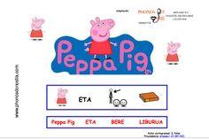 Peppa Pig piktogramekin. Egilea: El txoko de Phonos  www.phonosdonostia.com