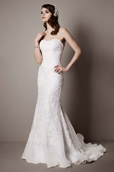 Wedding Dress Photos - Find the perfect wedding dress pictures and wedding gown photos at WeddingWire. Browse through thousands of photos of wedding dresses. Wedding Dresses Photos, Wedding Dress Styles, Wedding Suits, Party Dresses, Galina Wedding Dress, Bridal Gowns, Wedding Gowns, Bridal Lace, Wedding Gown Gallery