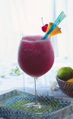 Frozen Pomarita (Pomegranate Margarita)   for Cinco De Mayo