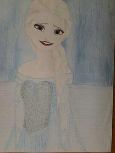 Elsa art by anneli du plessis