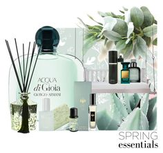 """Seagrass"" by saint-germain on Polyvore featuring beauty, Timorous Beasties, Lowcountry Originals, Calvin Klein, Perry Ellis, Raw Spirit, Pré de Provence, D.L. & Co., Fresh Laundry and Homedics"