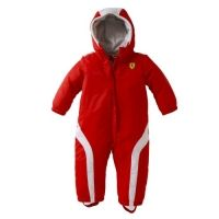 Ferrari Infants Newborn Snow Suit Overalls - Kids - red - Ferrari retail store in Canada - for the cool kids only ;-)