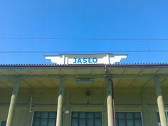 Jaslo// railway station// v153