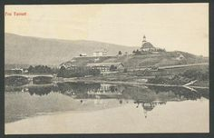 Hedmark fylke Tønset Tynset kommune med kirken brukt 1915