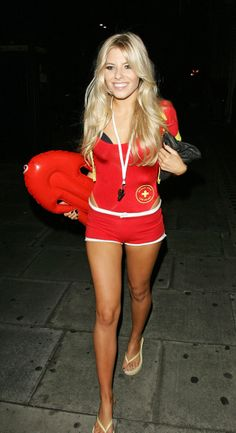 mollie king sexy lifeguard outfit