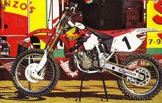 Jeremy McGrath's 1996 Factory Honda CR250R