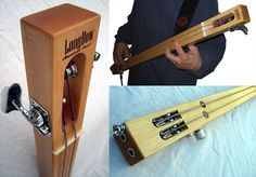 Longbow classic 2-string bass.