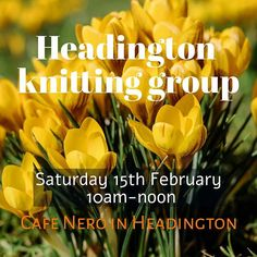 February's knitting group meeting will be onsaturday - Saturday 15th Februaryat Cafe Nero in Headington Oxford from 10am till noon. Everyone is welcome but we have an ongoing policy of prioritising the comfort of members who belong to 'minority' groupsof any kind (race religion size gender or orientation.) The cafe is easy to get to by bus and there is parking nearby on st leonards road.  i hope to see you there! New members always welcome!  #indiedyer #yarn #yarnlove #bfl…
